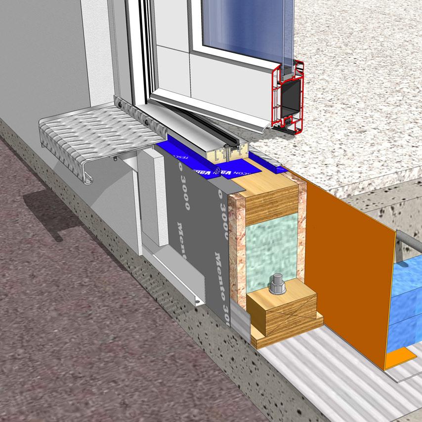 door threshold 3D